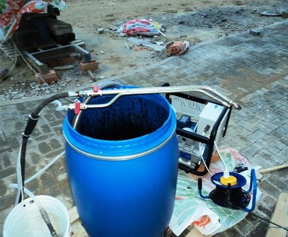 оборудование для гидроизоляции жидкой резиной ДУГА