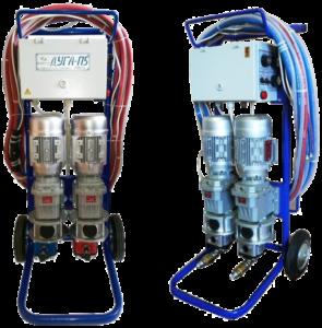 Аппарат для напыления и заливки пенополиуретана ДУГА П5