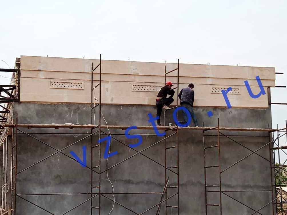 отделка фасада сфб-панелями