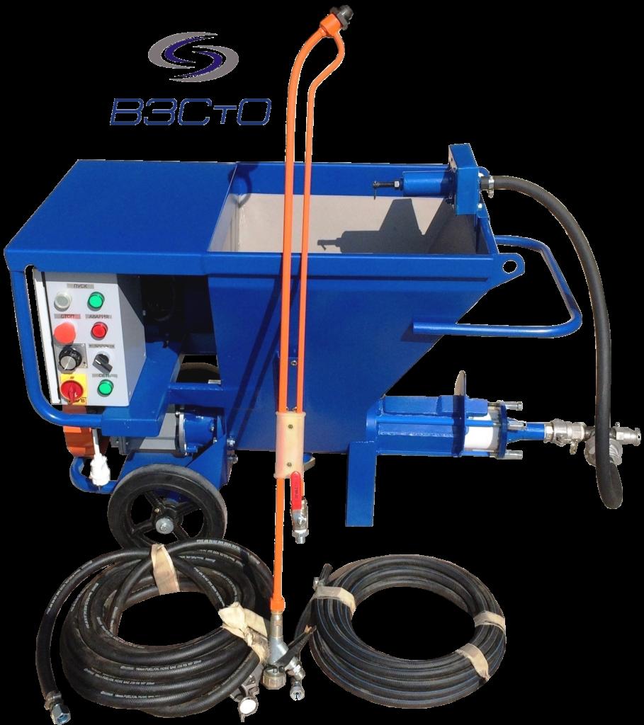 СО-150Б шпаклевочный агрегат